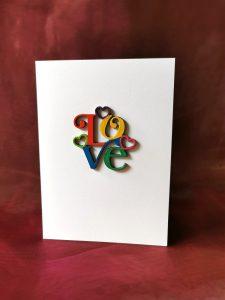 1960's 'Love' card.