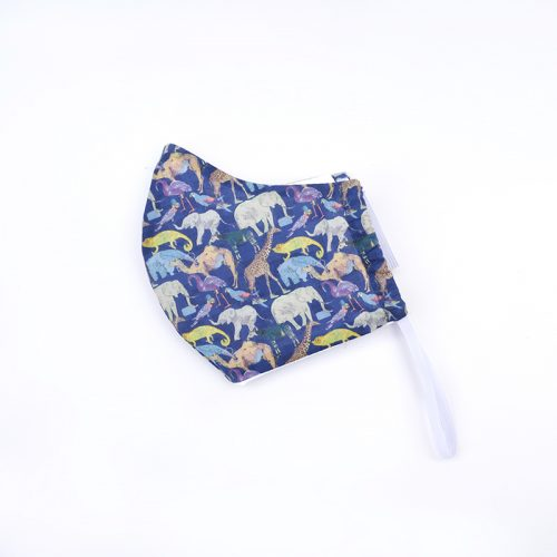 Liberty print animals pattern face mask.