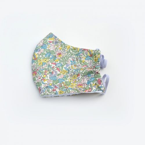 Hyde Floral Liberty print spring flowers face mask.