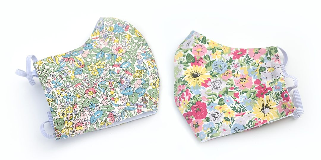 Spring Flowers, Liberty Print Face Masks
