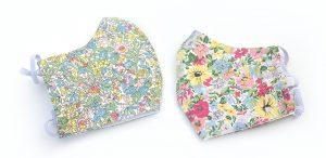 Face masks: Liberty prints, in Spring Flowers designs.
