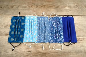 Blue face masks for sale UK.