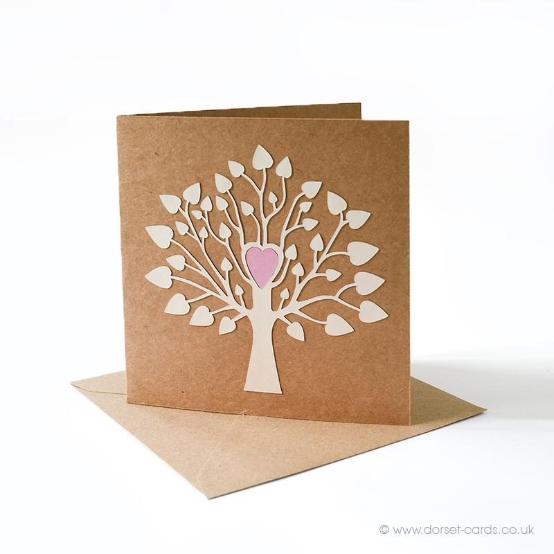 Tree of Life Blank Greetings Card.